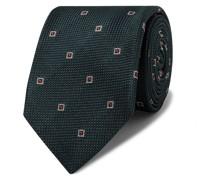 + Drake's 8cm Embroidered Silk-Jacquard Tie