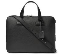 T Full-grain Leather Briefcase