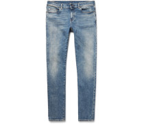 Skinny-fit 15cm Hem Stretch-denim Jeans