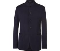 Cotton-blend Seersucker Jacket