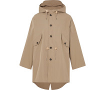 Cotton Packable Hooded Parka