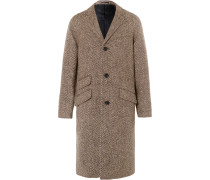 Magee Herringbone Wool Coat