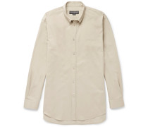 Button-down Collar Cotton-twill Shirt