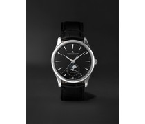 Master Ultra Thin Automatic Moon-Phase 39mm Stainless Steel and Alligator Watch, Ref. No. 1368471