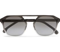 + Cutler and Gross Barford Aviator-Style Acetate Sunglasses