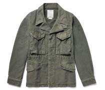 Achse Cotton-canvas Field Jacket