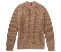 Alpaca, Silk And Merino Wool-blend Sweater