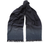 Dégradé Cashmere And Wool-blend Scarf