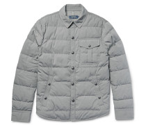 Quilted Cotton-blend Down Jacket