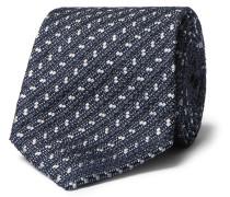 8cm Textured Silk-blend Tie