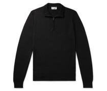 Tapton Slim-Fit Merino Wool Half-Zip Sweater
