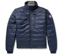 Lodge Packable Quilted Nylon-ripstop Down Jacket