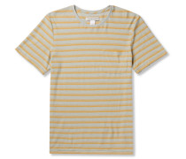 Isidro Striped Hemp And Organic Cotton-blend Jersey T-shirt