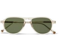 Jasper Aviator-style Acetate Sunglasses