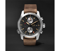 ALT1-ZT/51 Automatic Chronograph 43mm Stainless Steel and Leather Watch