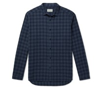 Clerkenwell Checked Brushed Cotton-Flannel Shirt