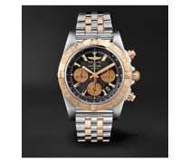 Chronomat B01 Automatic Chronograph 44mm Stainless Steel and 18-Karat Red Gold Watch, Ref. No. CB0110121B1C1