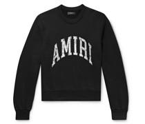Logo-Appliquéd Loopback Cotton-Jersey Sweatshirt