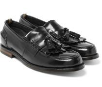 Cambridge Leather Kiltie Tasselled Loafers