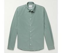Hans Cotton and Linen-Blend Shirt