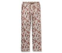 Printed Filoscozia Cotton Pyjama Trousers