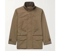 Dry Wax Cotton-Blend Jacket