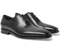 Alessandro Eclair Whole-cut Leather Oxford Shoes