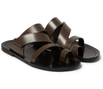 Multi-strap Leather Sandals