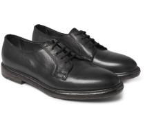Boyd Pebble-grain Leather Derby Shoes