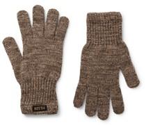 Mélange Wool-Blend Gloves