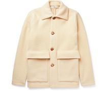 Keith Brushed Virgin Wool-Blend Jacket