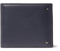 Rockstud Leather Billfold Wallet