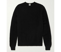 Textured-Cashmere Sweater