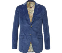 Slim-fit Cotton-corduroy Blazer