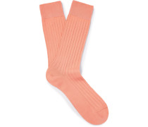 Pembrey Sea Island Cotton-blend Socks