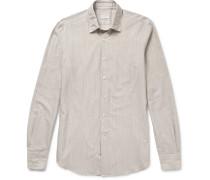 Kurt Slim-fit Striped Cotton Shirt