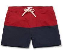 Ennis Short-length Colour-block Swim Shorts