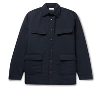 Luca Padded Nylon Shirt Jacket