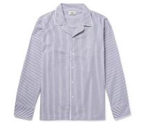 Henry Striped Cotton Pyjama Shirt