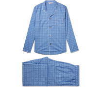 Ledbury 5 Printed Cotton Pyjama Set
