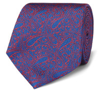 8cm Paisley Silk-jacquard Tie