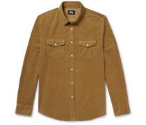 Western Slim-fit Cotton-corduroy Shirt