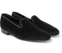 Albert Velvet Slippers