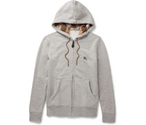 Brit Cotton-blend Jersey Zip-up Hoodie