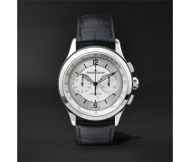 Master Chronograph 40mm Stainless Steel And Alligator Watch