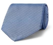 8.5cm Herringbone Mulberry Silk Tie