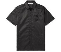 Buckle-Detailed Nylon Shirt