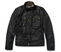 Racemaster Waxed-cotton Biker Jacket