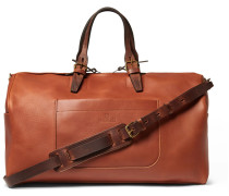 Voyager Leather Holdall