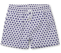 Arpoador Short-length Printed Swim Shorts